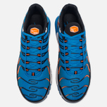 Мужские кроссовки Nike Air Max Plus Blue/White/Total Orange фото- 4