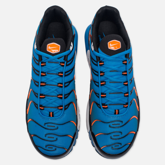 Мужские кроссовки Nike Air Max Plus Blue/White/Total Orange