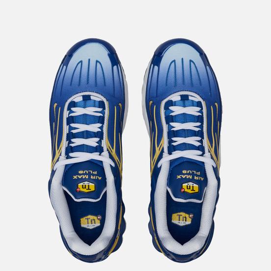 Мужские кроссовки Nike Air Max Plus III Deep Royal/Topaz Gold/White