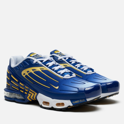Мужские кроссовки Nike Air Max Plus III Deep Royal/Topaz Gold/White