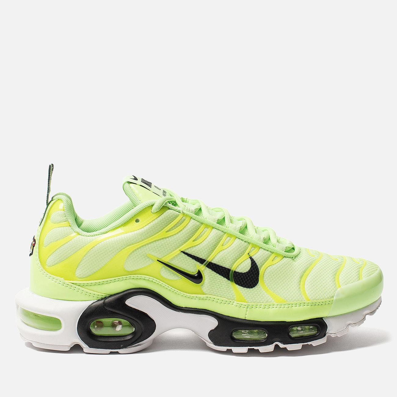 Мужские кроссовки Nike Air Max Plus PRM Lime Blast/Black/White