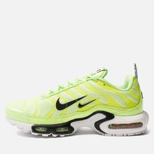 Мужские кроссовки Nike Air Max Plus PRM Lime Blast/Black/White фото- 2