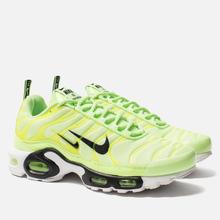 Мужские кроссовки Nike Air Max Plus PRM Lime Blast/Black/White фото- 1