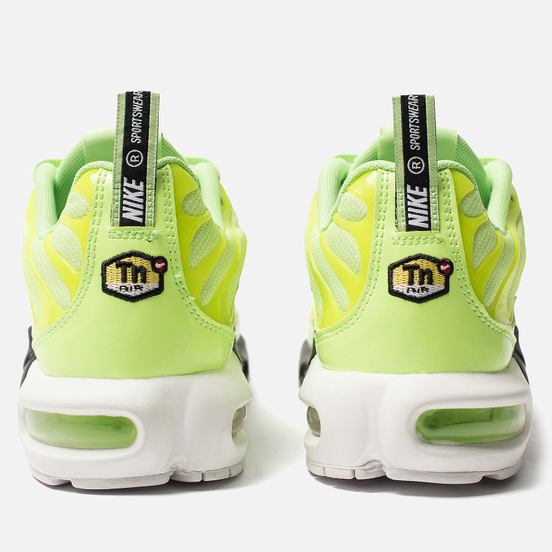 Мужские кроссовки Nike Air Max Plus PRM Lime Blast/Black/White