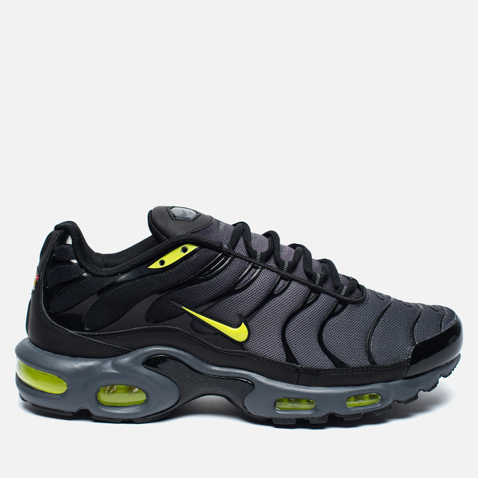 Мужские кроссовки Nike Air Max Plus Tuned 1 Dark Grey/Volt