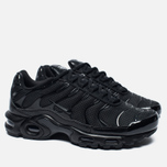 Мужские кроссовки Nike Air Max Plus Tuned 1 Triple Black фото- 2