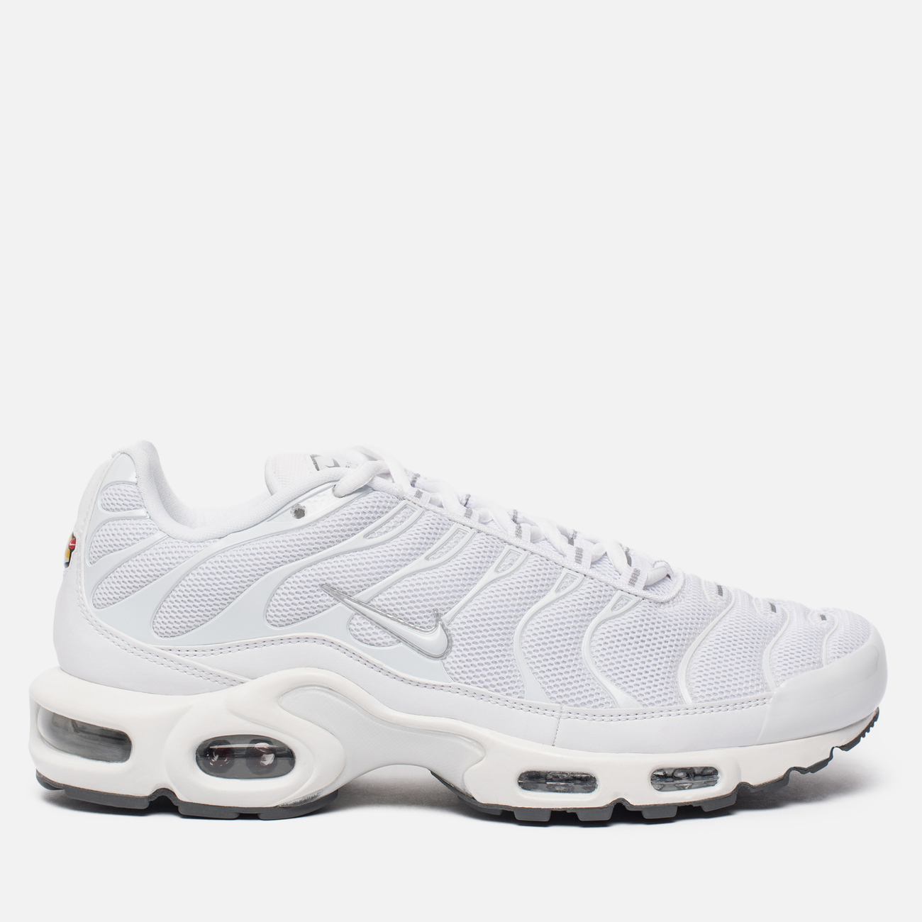 Мужские кроссовки Nike Air Max Plus Tuned 1 White/White/Black/Cool Grey