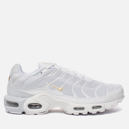 Мужские кроссовки Nike Air Max Plus Pure Platinum/Metallic Gold