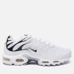 Мужские кроссовки Nike Air Max Plus White/White/Black фото- 0