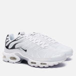 Мужские кроссовки Nike Air Max Plus White/White/Black фото- 2