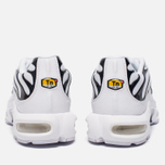 Мужские кроссовки Nike Air Max Plus White/White/Black фото- 3