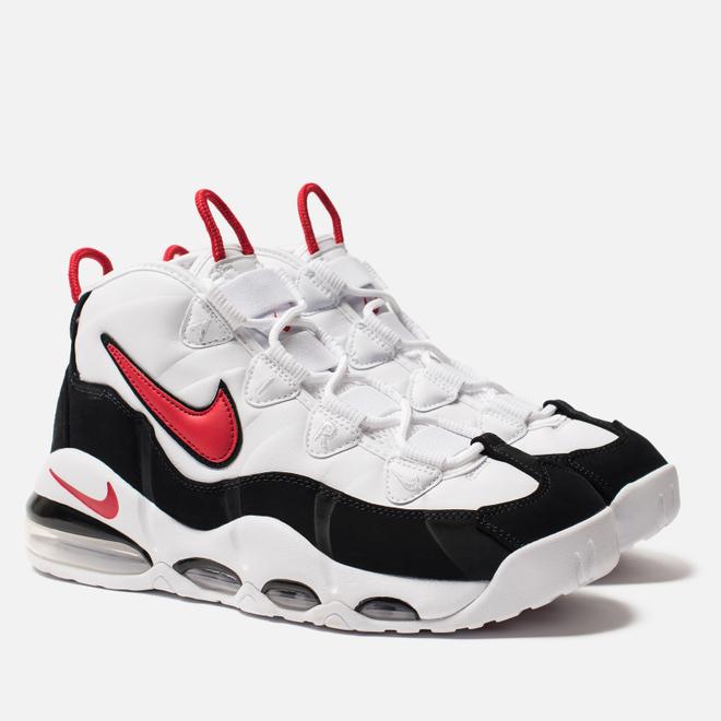 Мужские кроссовки Nike Air Max Uptempo 95 White/University Red/Black