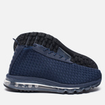Мужские кроссовки Nike Air Max Woven Boot Midnight Navy фото- 1