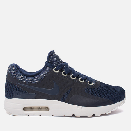 Мужские кроссовки Nike Air Max Zero Breathe Midnight Navy/Pure Platinum/Black