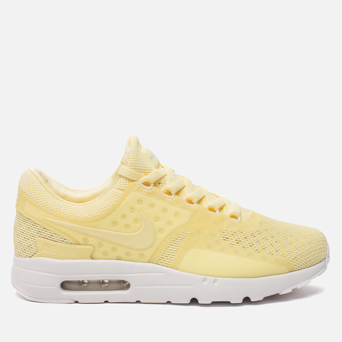 Мужские кроссовки Nike Air Max Zero Breathe Lemon Chiffon/Lemon Chiffon/White