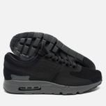 Nike Air Max Zero QS Men's Sneakers Black/Dark Grey photo- 2