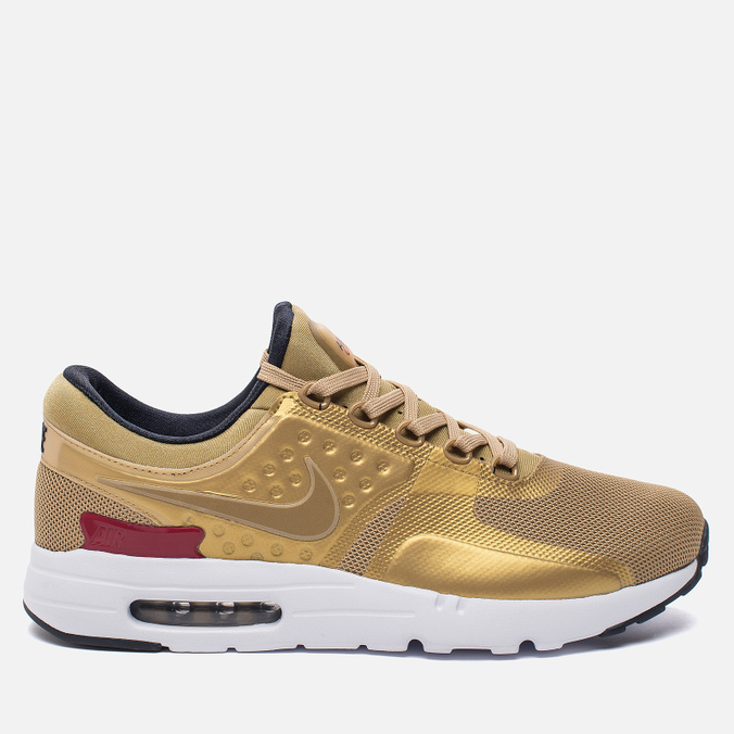 Мужские кроссовки Nike Air Max Zero QS Metallic Gold/University Red/White