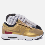 Мужские кроссовки Nike Air Max Zero QS Metallic Gold/University Red/White фото- 1
