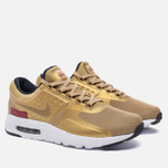 Мужские кроссовки Nike Air Max Zero QS Metallic Gold/University Red/White фото- 2