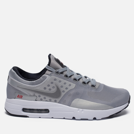 Nike Air Max Zero QS Men's Sneakers Metallic Silver