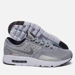 Мужские кроссовки Nike Air Max Zero QS Metallic Silver фото- 1