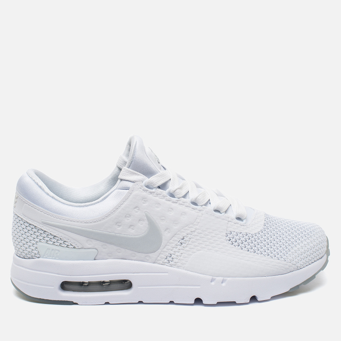Мужские кроссовки Nike Air Max Zero QS White/Pure Platinum