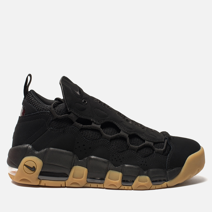 Мужские кроссовки Nike Air More Money Black/Black/Gum Light Brown