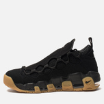 Мужские кроссовки Nike Air More Money Black/Black/Gum Light Brown фото- 2