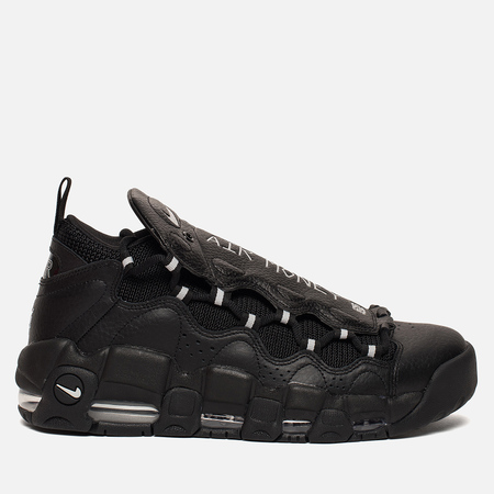 Мужские кроссовки Nike Air More Money Black/Metallic Silver/Black