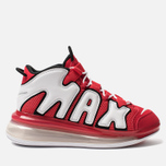 Мужские кроссовки Nike Air More Uptempo 720 QS 2 University Red/White/Black фото- 0