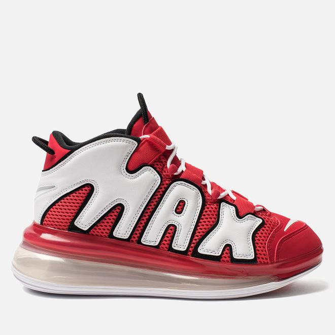 Мужские кроссовки Nike Air More Uptempo 720 QS 2 University Red/White/Black