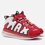 Мужские кроссовки Nike Air More Uptempo 720 QS 2 University Red/White/Black фото- 2