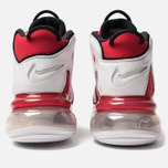 Мужские кроссовки Nike Air More Uptempo 720 QS 2 University Red/White/Black фото- 3