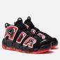 Мужские кроссовки Nike Air More Uptempo 96 Black/White/Laser Crimson фото - 0