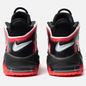 Мужские кроссовки Nike Air More Uptempo 96 Black/White/Laser Crimson фото - 2