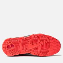 Мужские кроссовки Nike Air More Uptempo 96 Black/White/Laser Crimson фото- 4