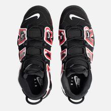 Мужские кроссовки Nike Air More Uptempo 96 Black/White/Laser Crimson фото- 5