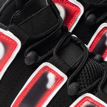 Мужские кроссовки Nike Air More Uptempo 96 Black/White/Laser Crimson фото- 6