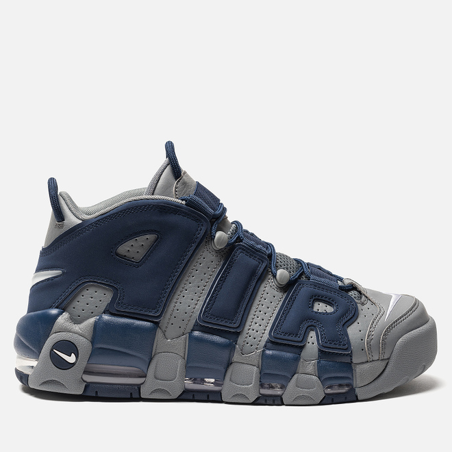 Мужские кроссовки Nike Air More Uptempo '96 Cool Grey/White/Midnight Navy
