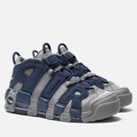 Мужские кроссовки Nike Air More Uptempo '96 Cool Grey/White/Midnight Navy фото- 2