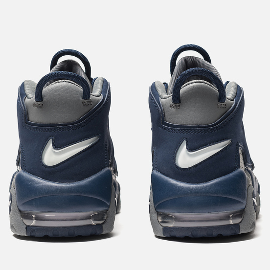 Мужские кроссовки Nike Air More Uptempo '96 Cool Grey/White/Midnight Navy