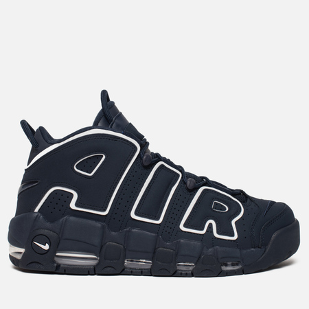 Мужские кроссовки Nike Air More Uptempo '96 Obsidian/Obsidian/White/Gum Light Brown