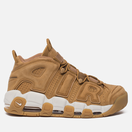 Мужские кроссовки Nike Air More Uptempo '96 Premium Flax/Flax/Gum Light Brown