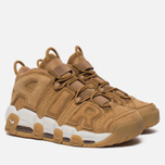 Мужские кроссовки Nike Air More Uptempo '96 Premium Flax/Flax/Gum Light Brown фото- 2