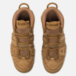 Мужские кроссовки Nike Air More Uptempo '96 Premium Flax/Flax/Gum Light Brown фото- 4