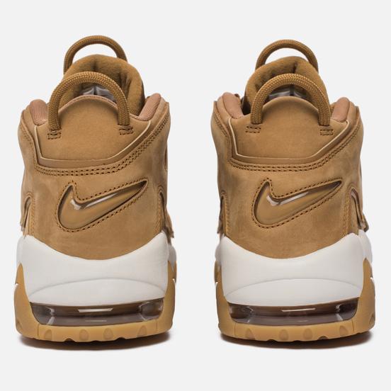 Мужские кроссовки Nike Air More Uptempo '96 Premium Flax/Flax/Gum Light Brown