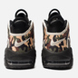 Мужские кроссовки Nike Air More Uptempo '96 QS Black/Sail/Light British Tan/Asparagus фото - 2