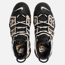 Мужские кроссовки Nike Air More Uptempo '96 QS Black/Sail/Light British Tan/Asparagus фото- 1