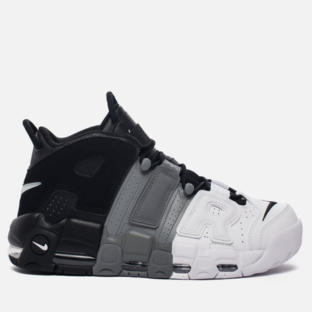 Мужские кроссовки Nike Air More Uptempo '96 Tri-Color Black/Cool-Grey/White