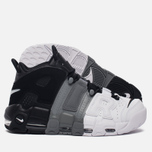 Мужские кроссовки Nike Air More Uptempo '96 Tri-Color Black/Cool-Grey/White фото- 1